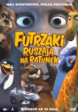 Plakat filmu Futrzaki ruszają na ratunek